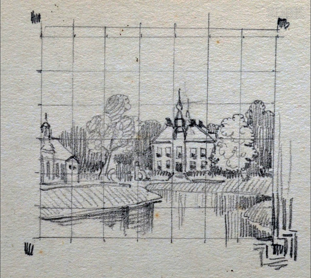 Album Schetsboek Tekening Engelbartus