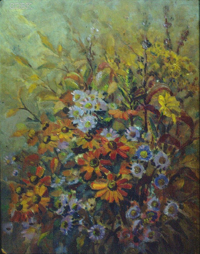 Album Olieverf Bloemen Arnold